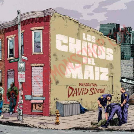 CD Los Chikos Del Maiz - David Simon