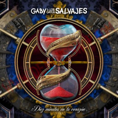 CD Gaby y los Gatos Salvajes - Diez Minutos en Tu Corazón
