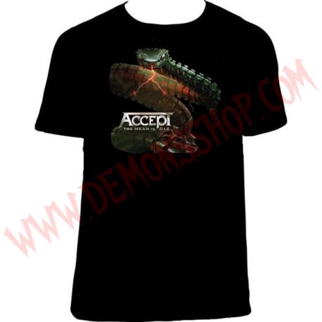 Camiseta MC Accept