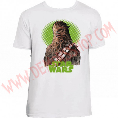 Camiseta MC Star Wars Chewacca