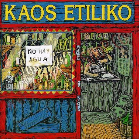 Vinilo LP Kaos Etíliko – No Hay Agua