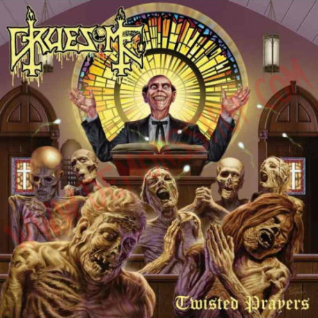 Vinilo LP Gruesome - Twisted Prayers