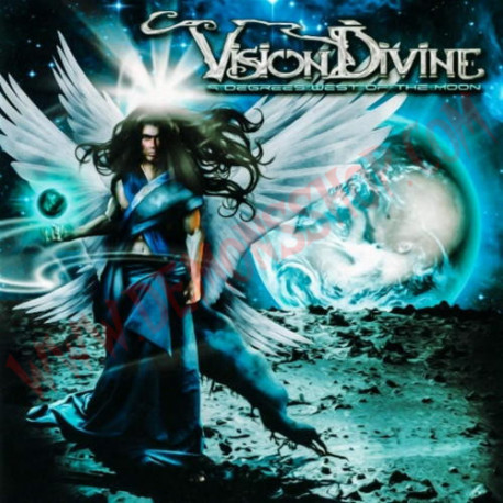 CD Vision Divine - 9 Degrees West Of The Moon