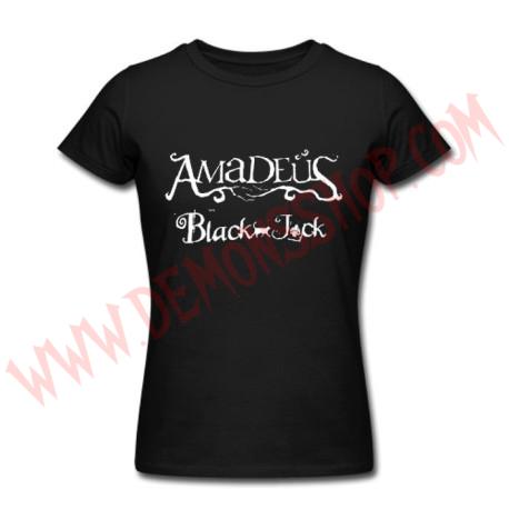 Camiseta Chica MC Amadeus