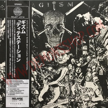 Vinilo LP Gism ‎– Detestation