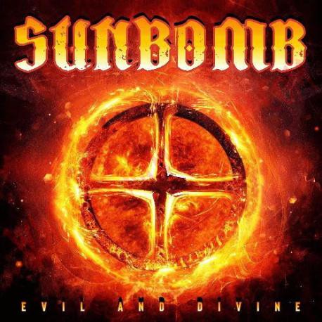 Vinilo LP Sunbomb - Evil and divine