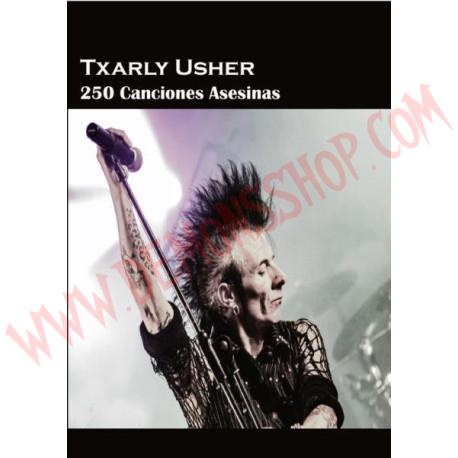 Libro Txarly Usher - 250 canciones asesinas