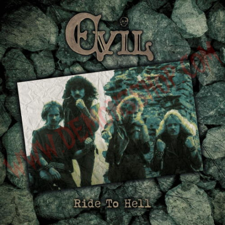 Vinilo LP Evil - Ride to hell