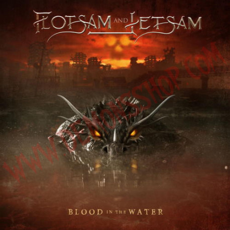CD Flotsam And Jetsam - Blood In The Water