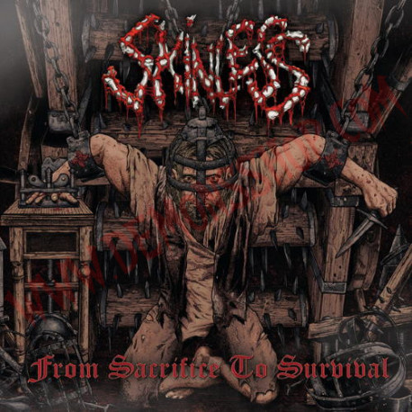 Vinilo LP Skinless – From Sacrifice To Survival