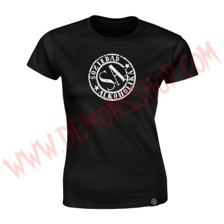Camiseta Chica MC Soziedad Alkoholika