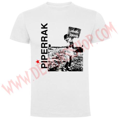 Camiseta MC Piperrak (Blanca)