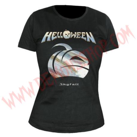 Camiseta Chica MC Helloween