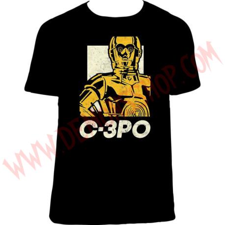 Camiseta MC Star Wars C-3PO