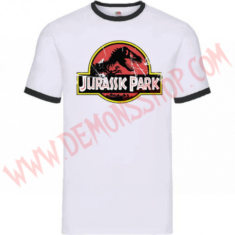 Camiseta MC Jurassic Park (Ringer)