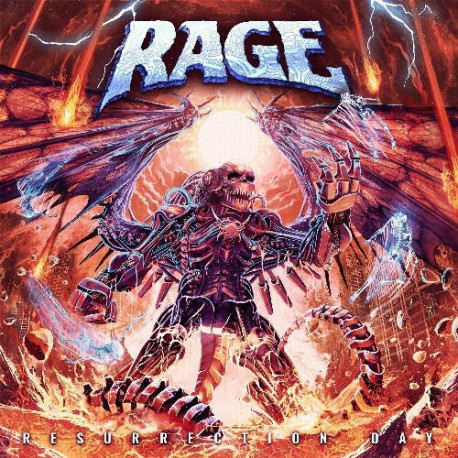 CD Rage - Ressurection Day