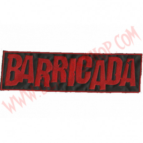 Parche Barricada