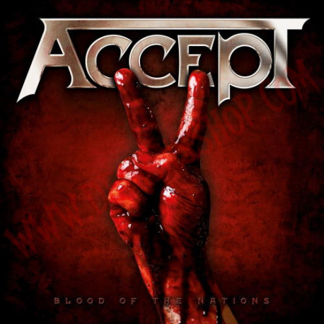 Vinilo LP Accept - Blood of the nations