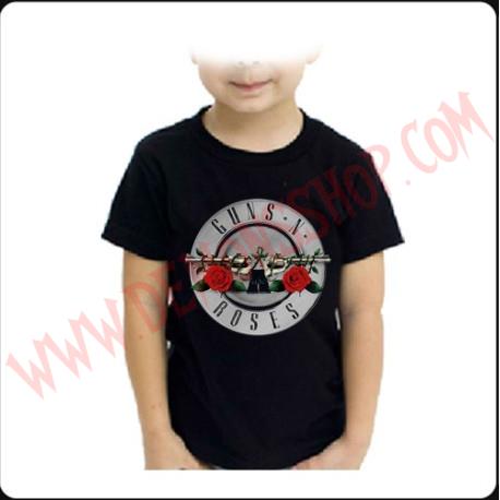 Camiseta Niño Guns & Roses