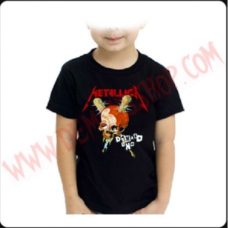 Camiseta Niño Metallica