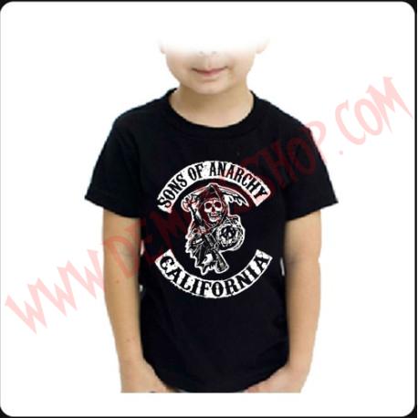 Camiseta Niño Sons of Anarchy