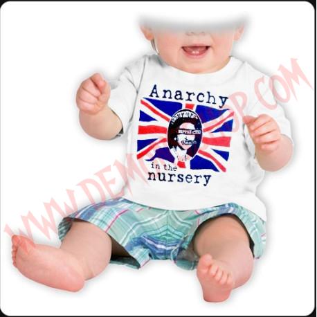 Camiseta Bebe Blanca MC Sex Pistols