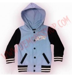 Chaqueta College Little Diamond Azul