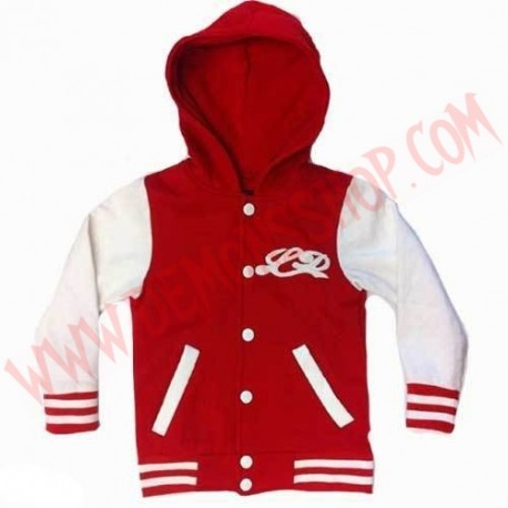 Chaqueta College Little Diamond Roja