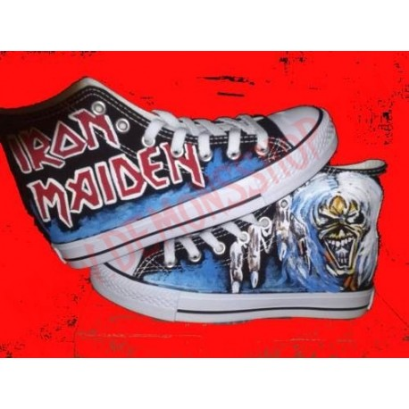 Zapatilla Iron Maiden