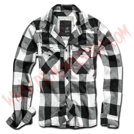 Camisa ML Check Black White