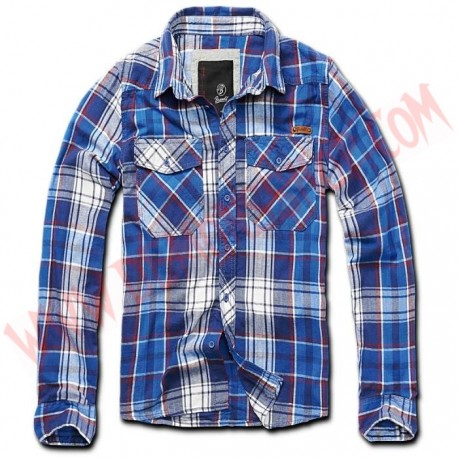 Camisa ML Check Blue