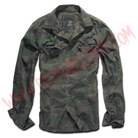 Camisa ML SlimFit Woodland