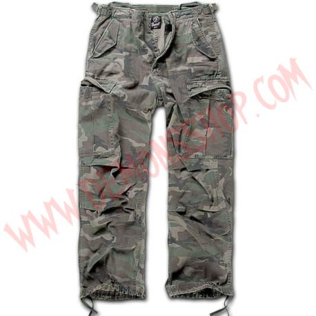 Pantalon M-65 Vintage Woodland